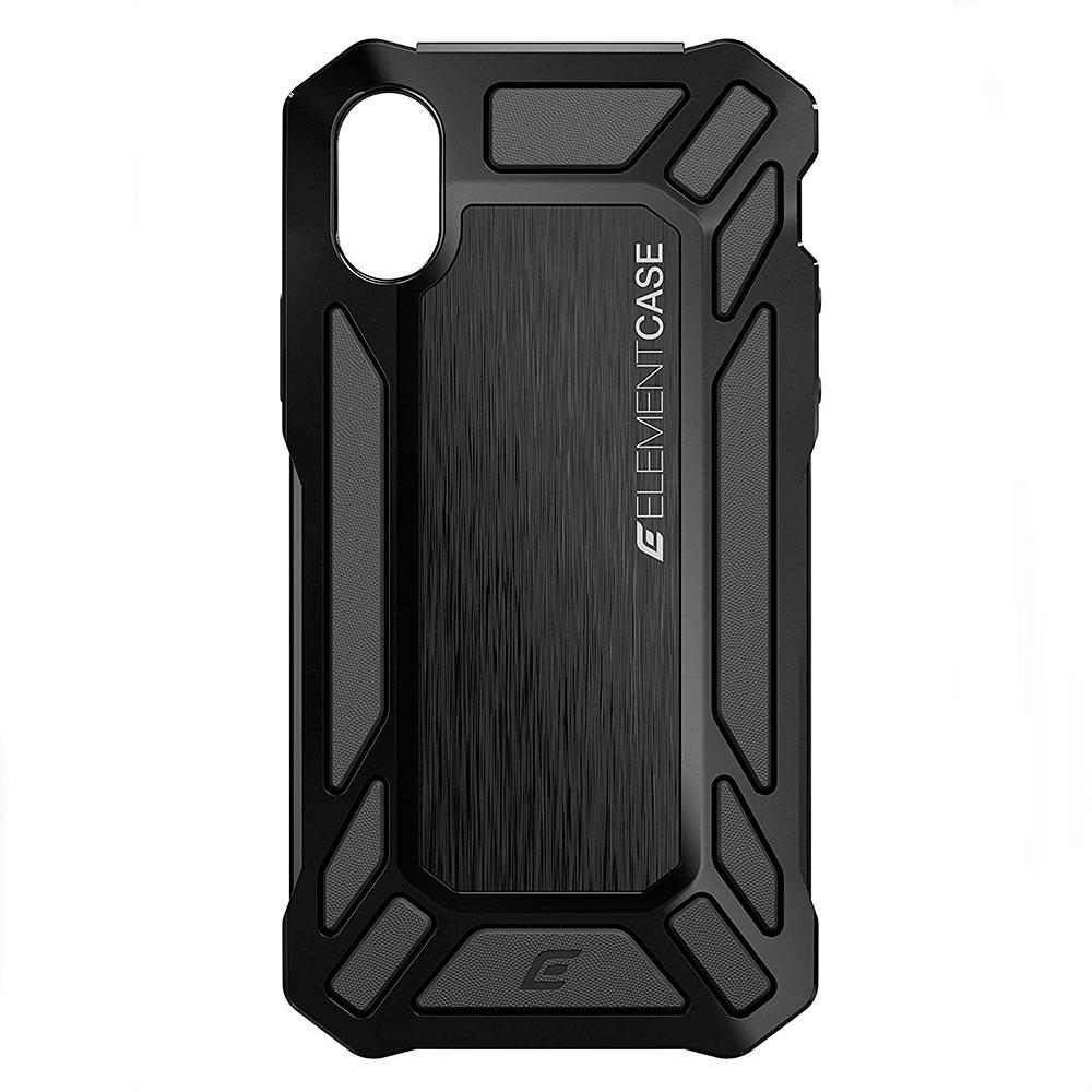 Купить Противоударный чехол Element Case ROLL CAGE Black для iPhone X   XS