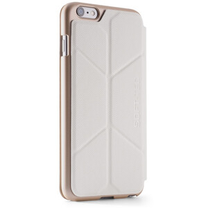 Купить Чехол Element Case Soft-Tec White/Gold для iPhone 6/6s Plus