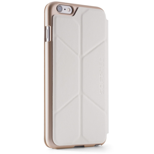 Чехол Element Case Soft-Tec White/Gold для iPhone 6/6s Plus