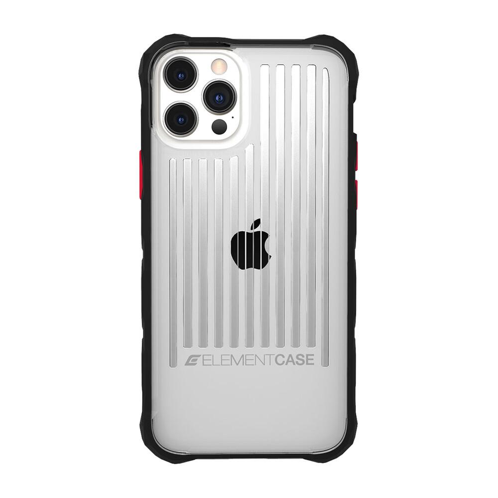 Противоударный чехол Element Case Special OPS Clear/ Black для iPhone 12 Pro Max