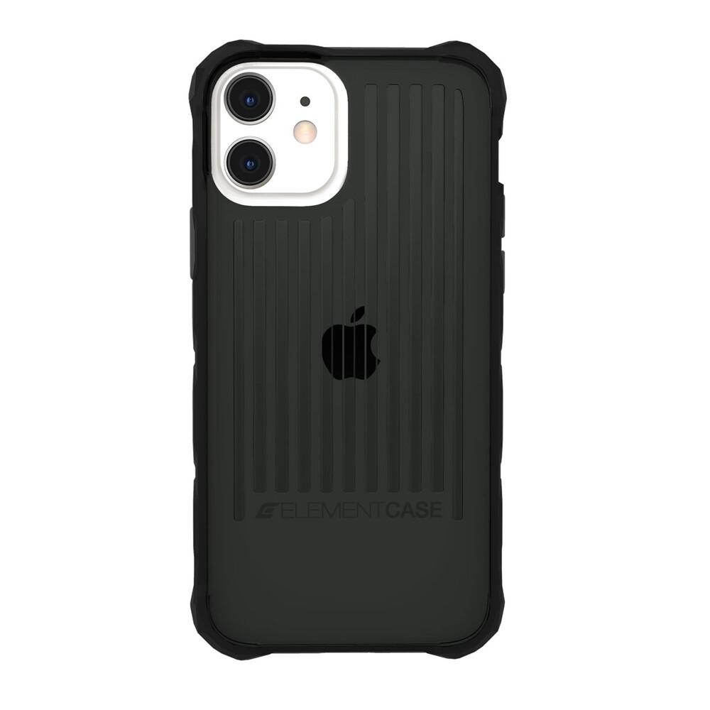 Противоударный чехол Element Case Special OPS Smoke/ Black для iPhone 12 | 12 Pro