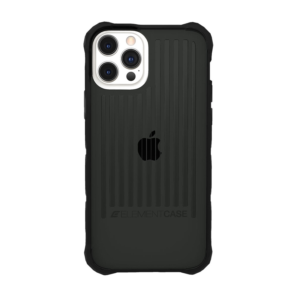 Противоударный чехол Element Case Special OPS Smoke/ Black для iPhone 12 Pro Max