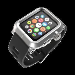 Купить Чехол LUNATIK EPIK ALUMINUM Silver для Apple Watch Series 1 42mm