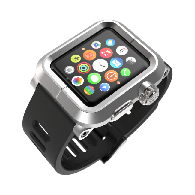 Чехол LUNATIK EPIK ALUMINUM Silver для Apple Watch Series 1 42mm