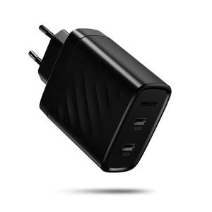 Купить Быстрое зарядное устройство ESR 2 USB-C PD 36W для iPhone | iPad | MacBook | смартфонов