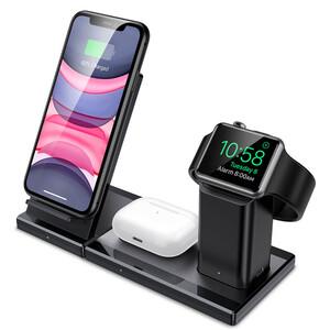 Купить  Беспроводная док-станция 3 в 1 ESR Wireless Charging Station для iPhone | AirPods | Apple Watch