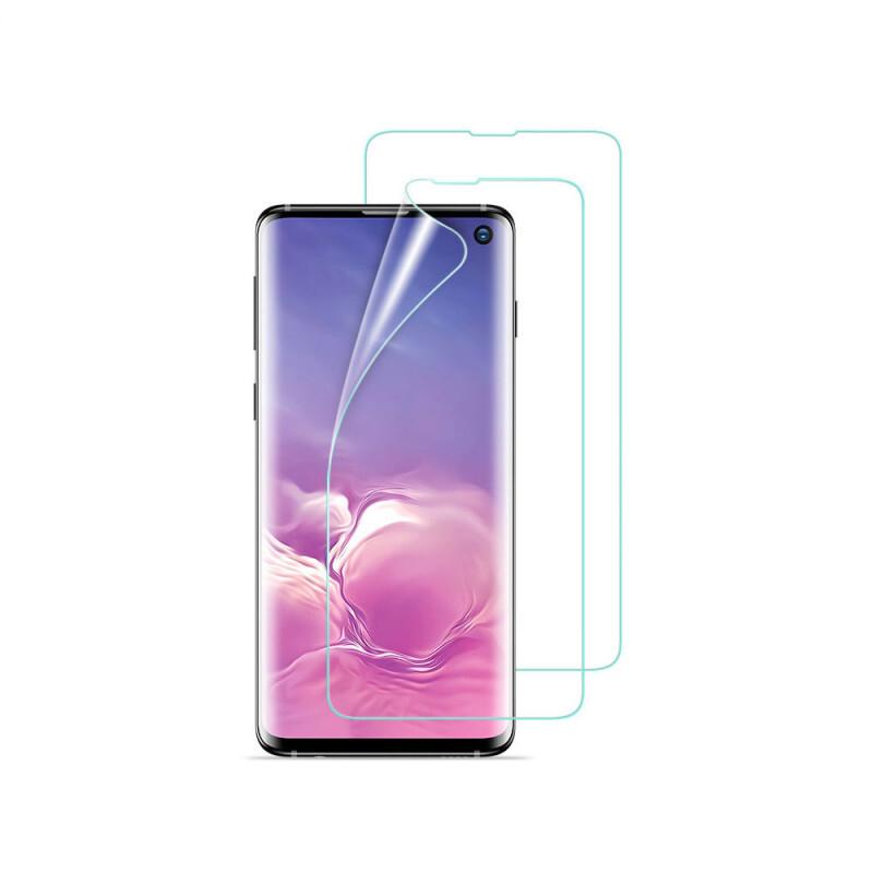 Защитная пленка ESR 3D Liquid Skin Film-Clear для Samsung Galaxy S10 (2 Pack)