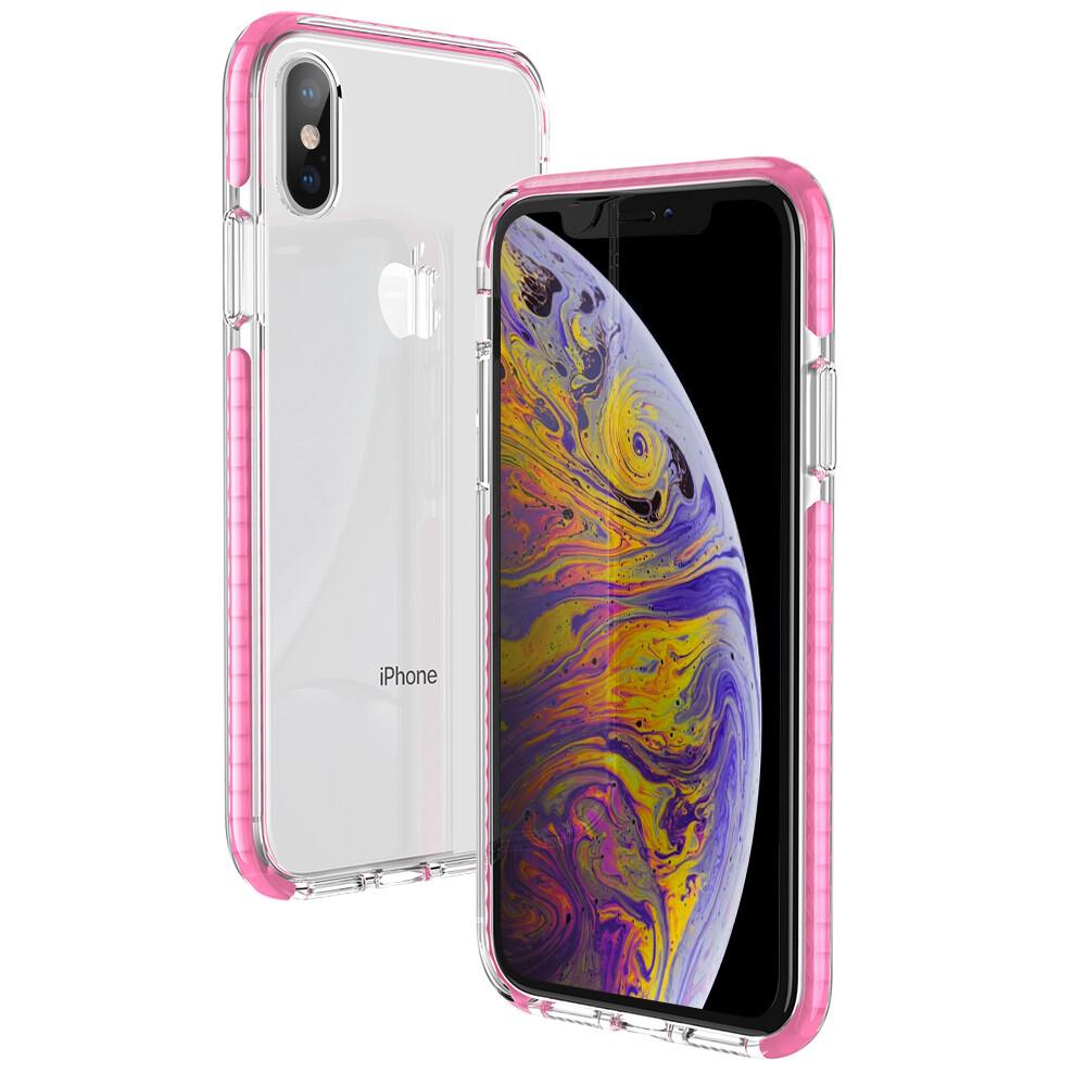 Силиконовый чехол ESR Air-Guard Pink для iPhone XS | X
