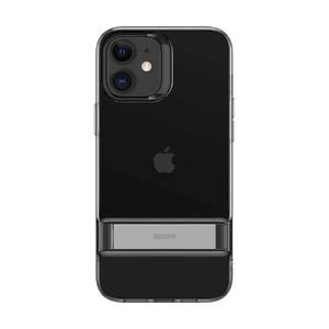 Купить Черный силиконовый чехол-подставка ESR Air Shield Boost Matte Jelly Black для iPhone 12 mini