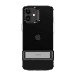 Купить Черный силиконовый чехол-подставка ESR Air Shield Boost Matte Jelly Black для iPhone 12 | 12 Pro