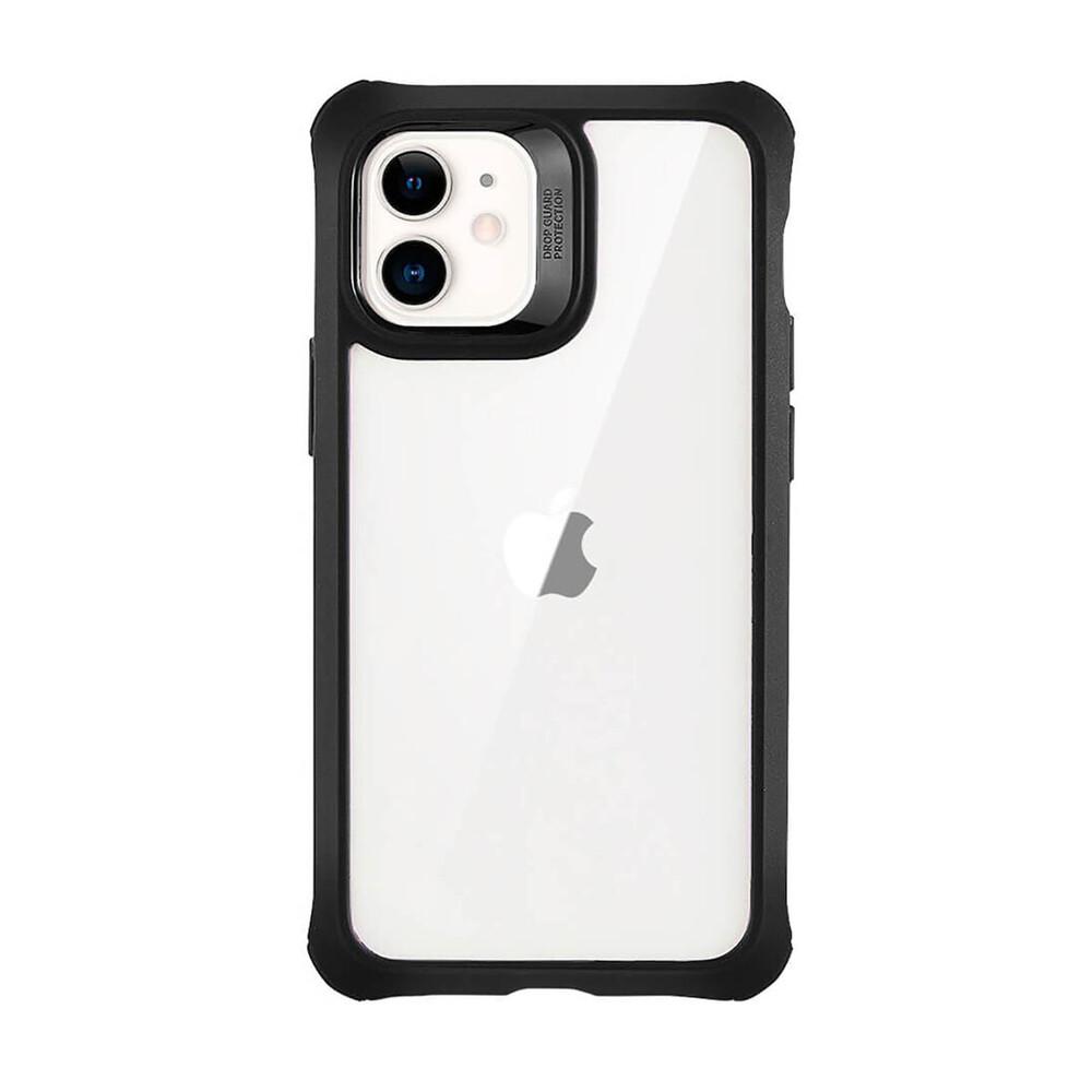 Противоударный чехол с защитным стекло (2 шт.) ESR Alliance Tough Black | Clear для iPhone 12 mini