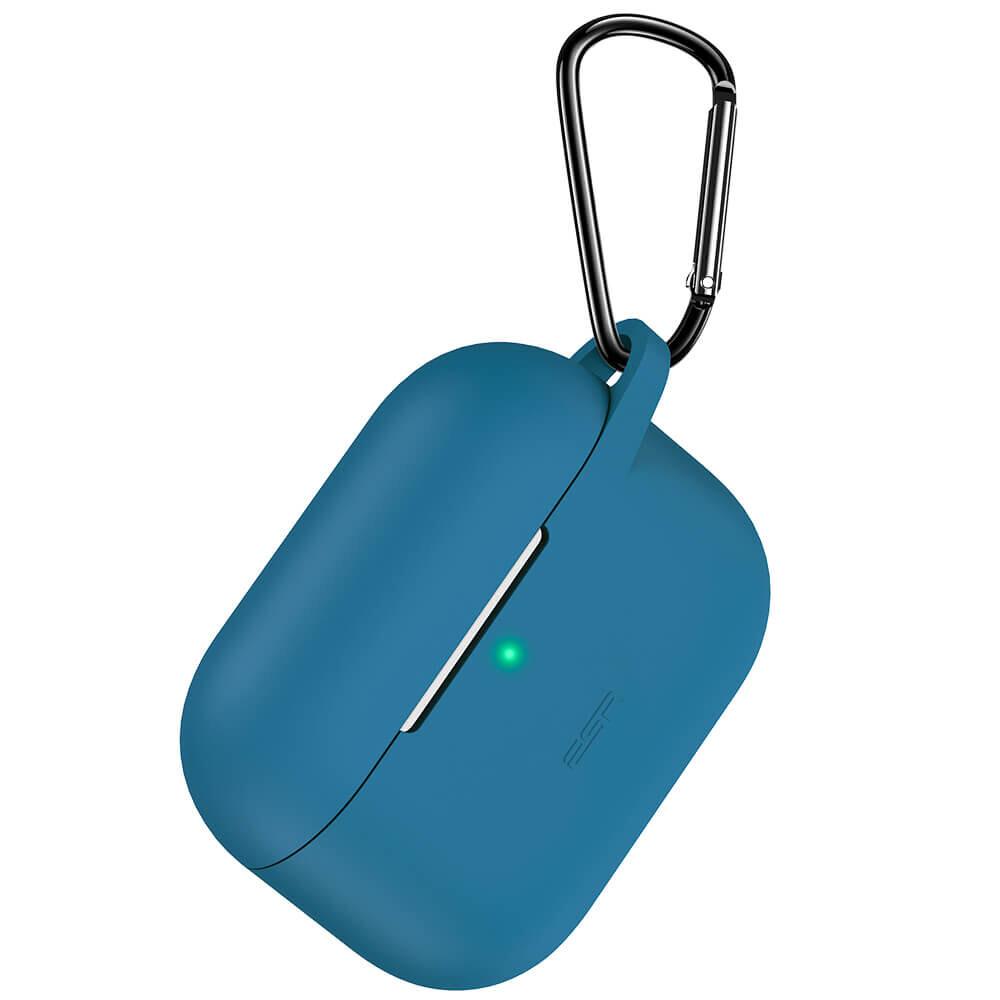 Силиконовый чехол с карабином ESR Bounce Series Blue для AirPods Pro