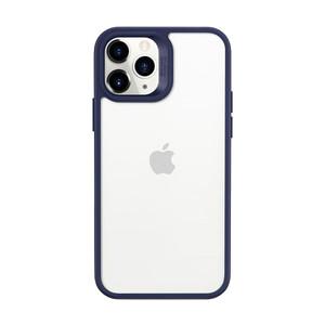 Купить Прозрачный чехол ESR Classic Hybrid Shock Navy Blue для iPhone 12 | 12 Pro
