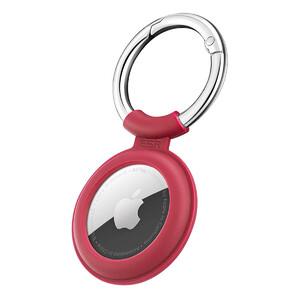 Купить Силиконовый чехол c карабином ESR Cloud Silicone Keychain Case Red для AirTag
