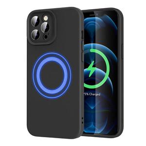 Купить Силиконовый чехол ESR Cloud Soft Case MagSafe Black для iPhone 12