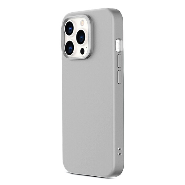 Силиконовый чехол ESR Cloud Soft Series Liquid Silicone Case Cover Gray для iPhone 13 Pro Max