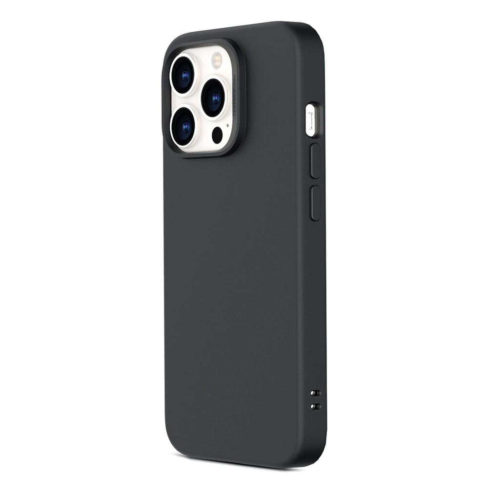 Черный силиконовый чехол ESR Cloud Soft Series Liquid Silicone Case Cover Black для iPhone 13 Pro