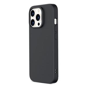 Купить Черный силиконовый чехол ESR Cloud Soft Series Liquid Silicone Case Cover Black для iPhone 13 Pro Max