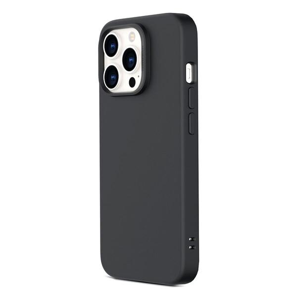 Черный силиконовый чехол ESR Cloud Soft Series Liquid Silicone Case Cover Black для iPhone 13 Pro Max