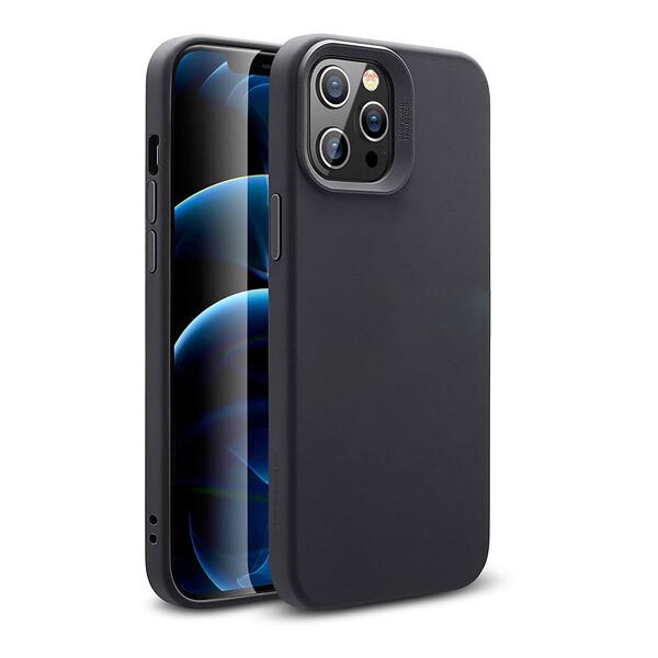 Черный силиконовый чехол ESR Cloud Soft HaloLock MagSafe для iPhone 12 | 12 Pro