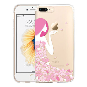Купить Чехол с узорами ESR Cute Cartoon Pink Floral Girl для iPhone 7 Plus/8 Plus