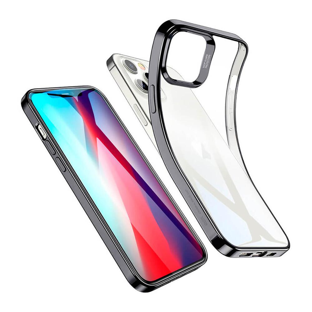 Купить Прозрачный чехол ESR Halo Clear Case Black для iPhone 12 Pro Max