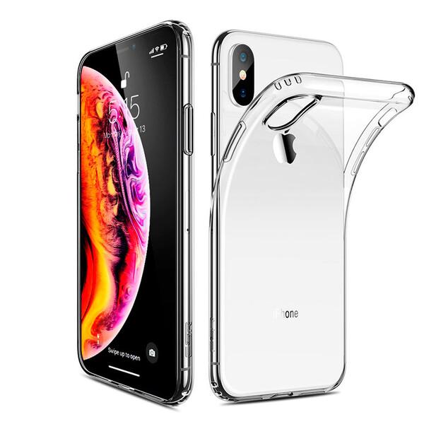 Прозрачный силиконовый чехол ESR Essential Zero Clear для iPhone XS Max