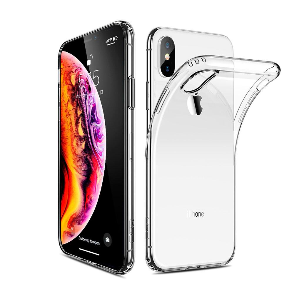 Прозрачный силиконовый чехол ESR Essential Zero Clear для iPhone X | XS
