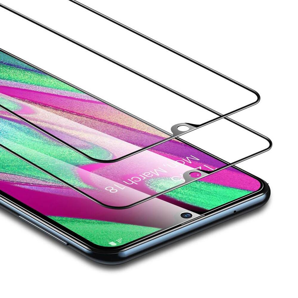 Защитное стекло ESR Full Coverage Glass Film Black Edge для Samsung A20e (в комплекте 2 шт.)