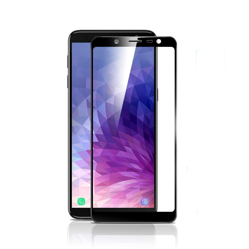 Защитное стекло ESR Full Coverage Glass Film Black Edge для Samsung Galaxy J6 Plus