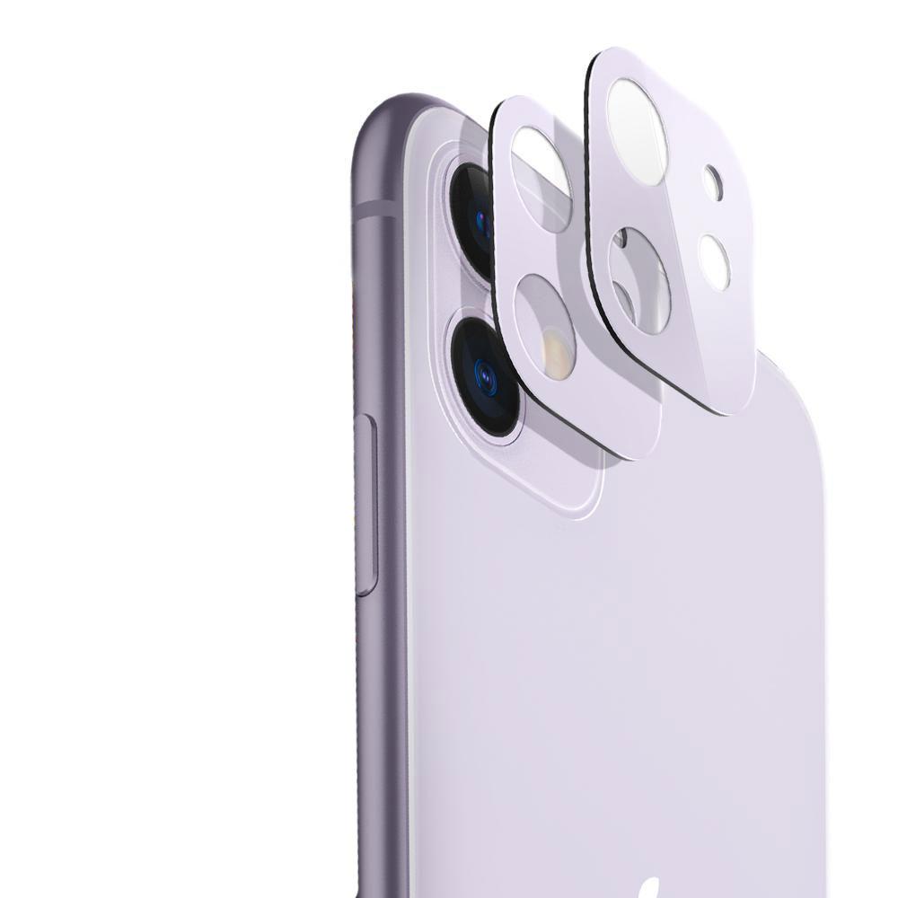 Купить Защитное стекло на камеру ESR Fullcover Camera Glass Film Purple для iPhone 11