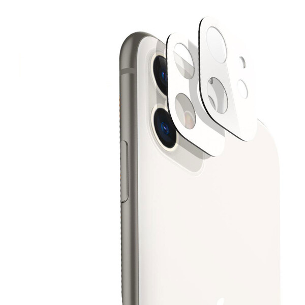 Черное защитное стекло на камеру ESR Fullcover Camera Glass Film White для iPhone 11