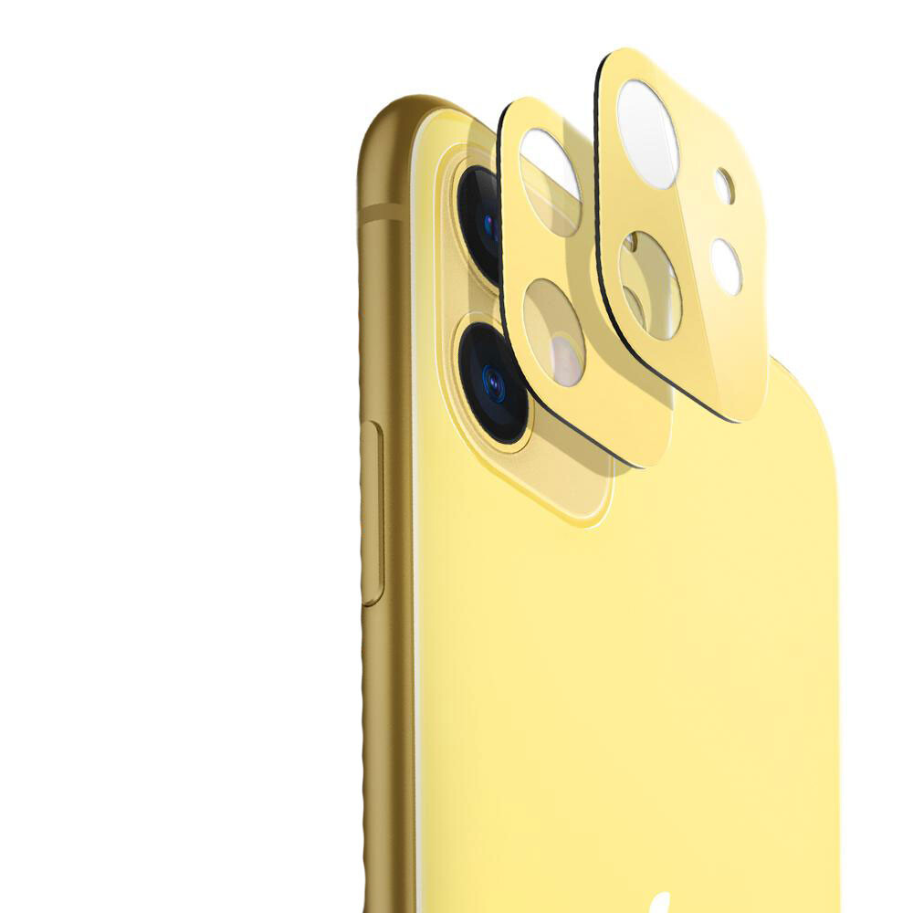 Защитное стекло на камеру ESR Fullcover Camera Glass Film Yellow для iPhone 11