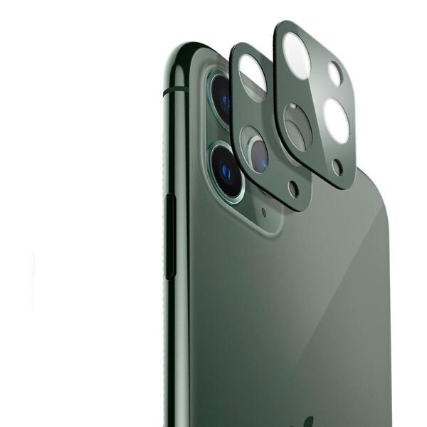 Защитное стекло на камеру ESR Fullcover Camera Midnight Green для iPhone 11 Pro | 11 Pro Max