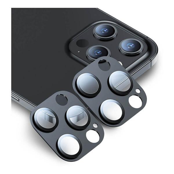 Защитное стекло на камеру ESR Fullcover Camera для iPhone 12 Pro (2 шт.)
