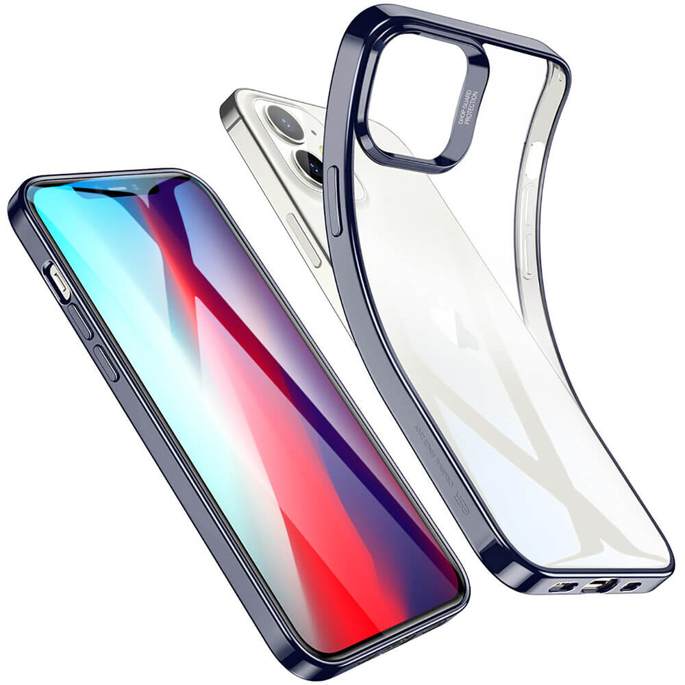 Купить Прозрачный чехол ESR Halo Clear Case Blue для iPhone 12 mini
