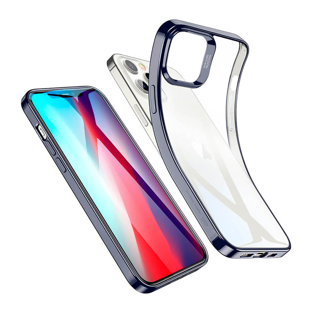 Купить Прозрачный чехол ESR Halo Clear Case Blue для iPhone 12 Pro Max