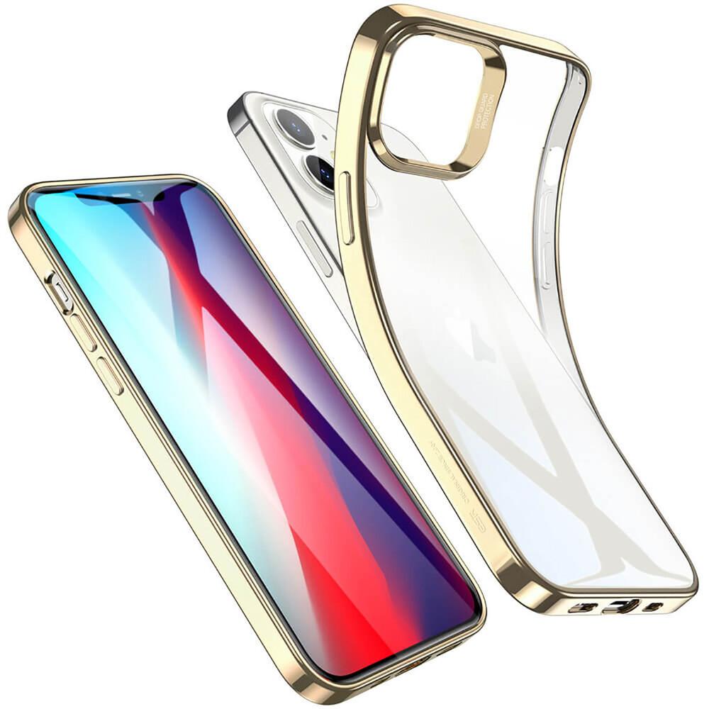 Прозрачный чехол ESR Halo Clear Case Gold для iPhone 12 mini
