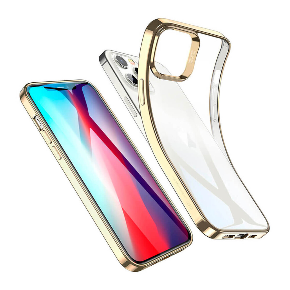Прозрачный чехол ESR Halo Clear Case Gold для iPhone 12 Pro Max