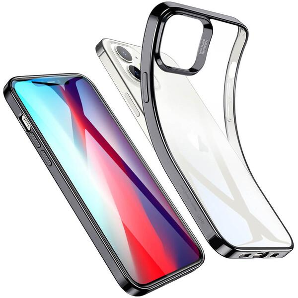 Прозрачный чехол ESR Halo Clear Case Black для iPhone 12 mini
