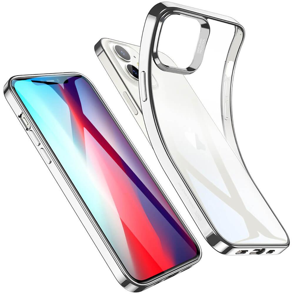 Купить Прозрачный чехол ESR Halo Clear Case  Silver для iPhone 12 mini