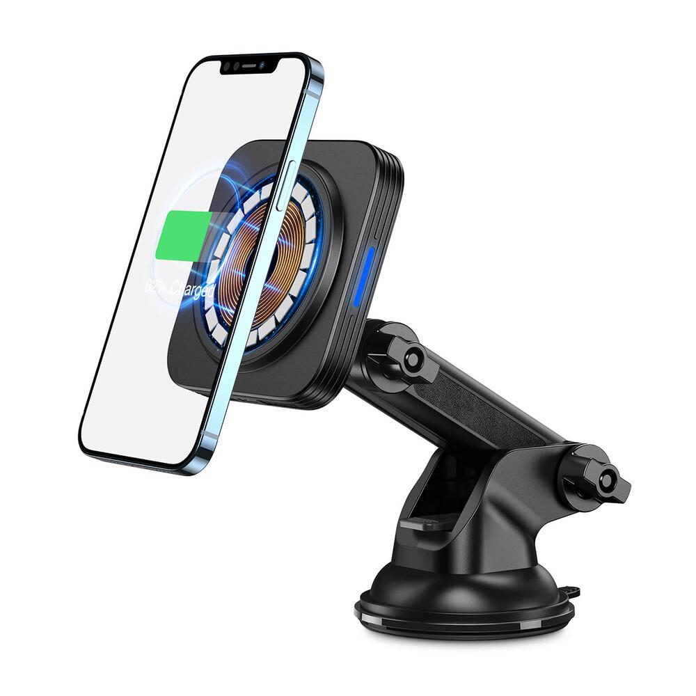 Купить Автомобильный держатель с беспроводной зарядкой ESR HaloLock™ Dashboard MagSafe для iPhone 12 mini | 12 | 12 Pro | 12 Pro Max