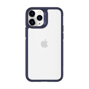 Купить Стеклянный чехол ESR Ice Shield Blue Frame | Clear Back для iPhone 12 | 12 Pro