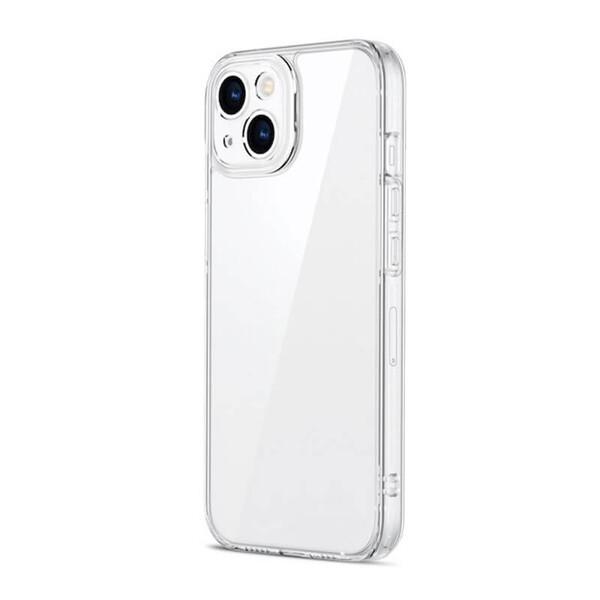 Силиконовый прозрачный чехол ESR Ice Shield Series 9H Tempered Glass Back Cover Clear для iPhone 13