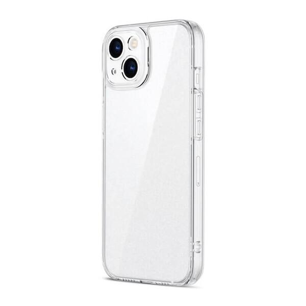 Силиконовый прозрачный чехол ESR Ice Shield Series 9H Tempered Glass Back Matte Clear для iPhone 13