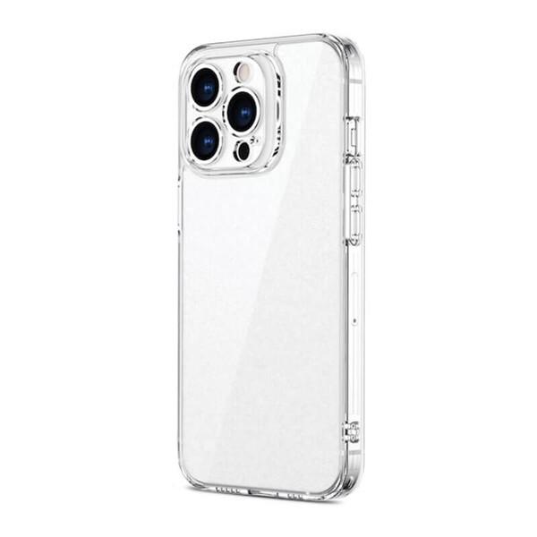 Силиконовый прозрачный чехол ESR Ice Shield Series 9H Tempered Glass Back Matte Clear для iPhone 13 Pro