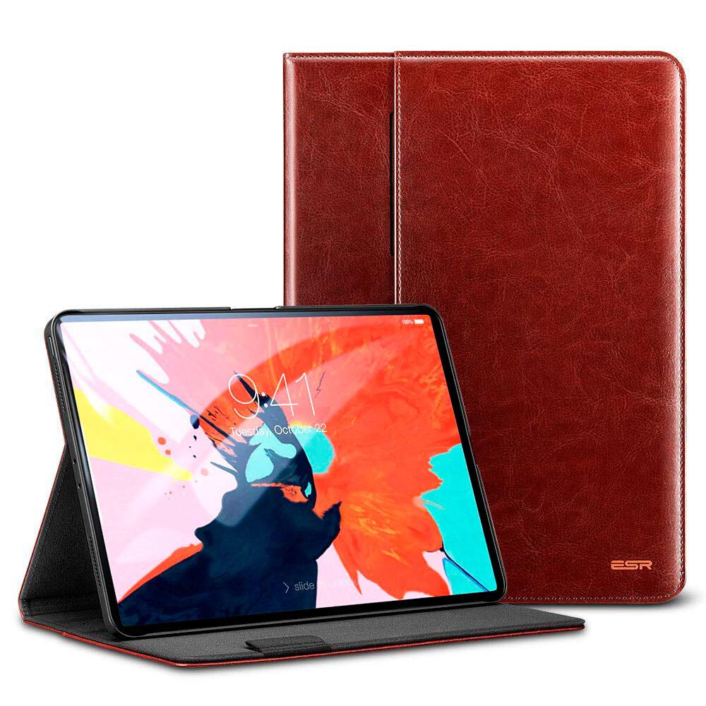 "Кожаный чехол ESR Intelligent Premium Business Brown для iPad Pro 11"""