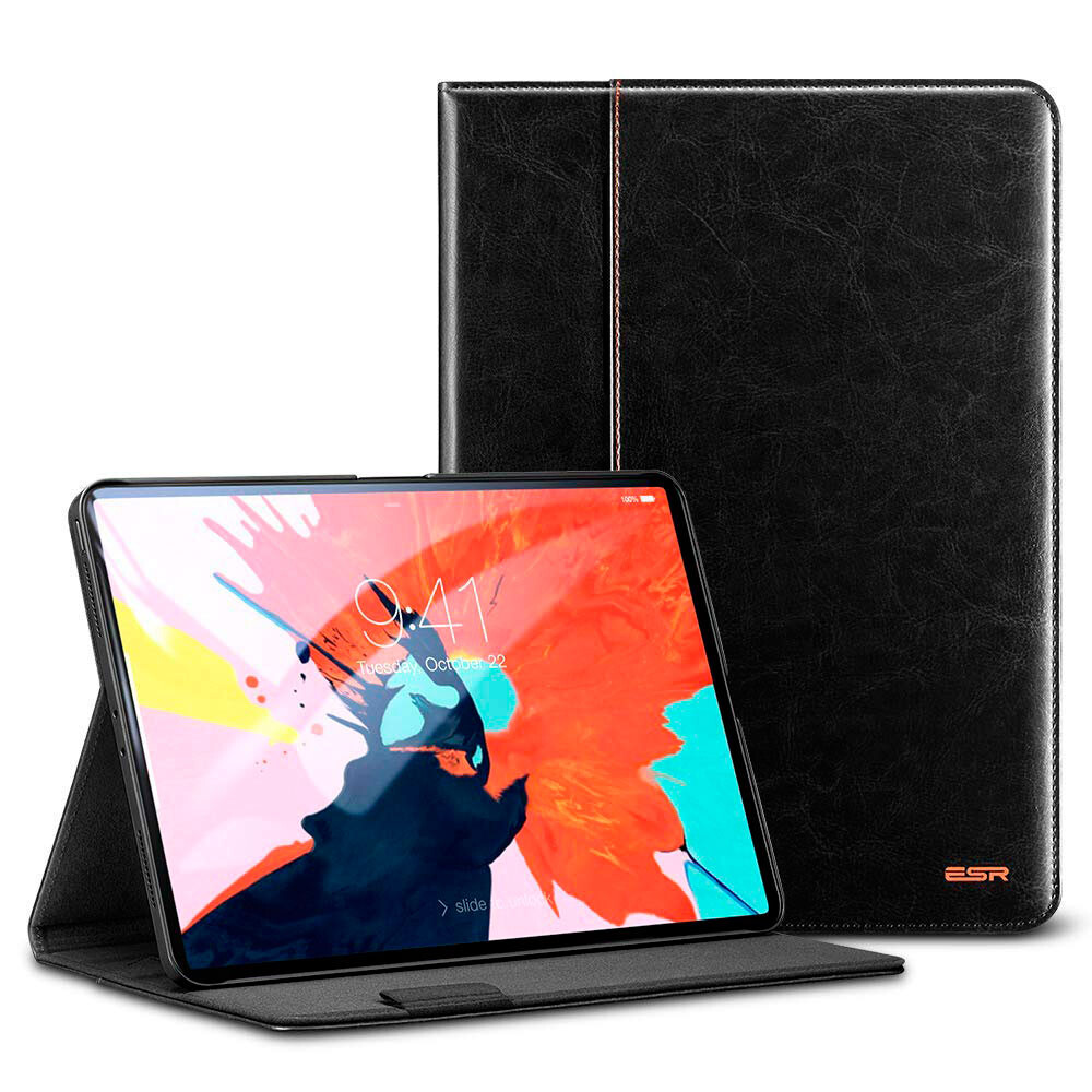 "Кожаный чехол ESR Intelligent Premium Business Black для iPad Pro 11"" (2018)"