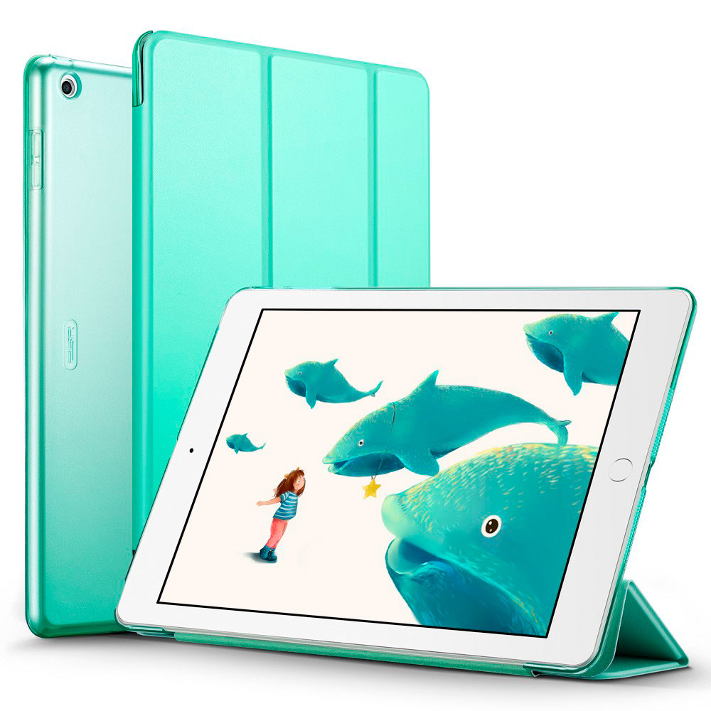 """Купить Кожаный чехол ESR Yippee Color Mint Green для iPad 9.7"""" (2017   2018)"""