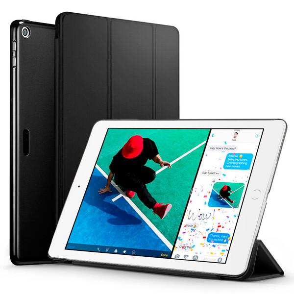 "Кожаный чехол ESR Yippee Color Mysterious Black для iPad 9.7"" (2017 | 2018)"
